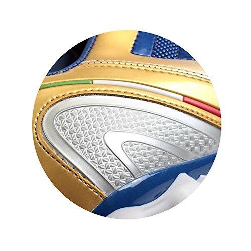Mr. LQ - Scarpe formazione degli adulti di calcio giovanile Black / Blue