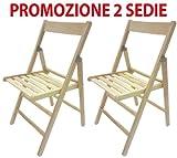 2Stühle faltbar Stuhl Bierzeltgarnitur aus Holz natur faltbar für Camping-Zubehör