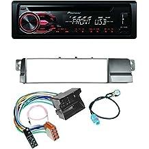 Pioneer - Radio de coche para BMW 3 E46, Quadlock, lector de CD, MP3, USB y AUX