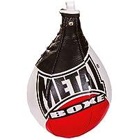 Metal Boxe mb168Peras de Velocidad combinada, Color Negro/Rojo, tamaño Taille M, 0.232