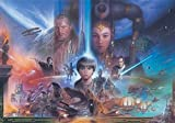 Tapetokids Fototapete - Star Wars Junge Anakin Konigin Amidala - Vlies 254 x 184 cm (Breite x Höhe) - Wandbild Star Wars