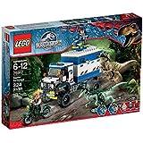 Lego Jurassic World - 75917 - Jeu De Construction - La Destruction Du Vélociraptor