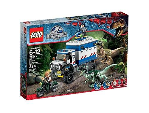 LEGO - El caos del raptor, multicolor (75917)
