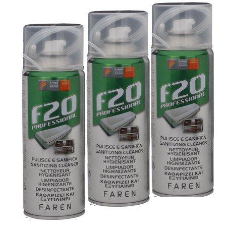 Faren F20 Igienizzante Spray, Trasparente, 400 ml cod. 79794 - confez. 3 pezz