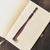 Porte-plume de Calligraphie avec poignée en Palissandre, Porte-plume oblique, Porte-plume en bois pour Écrire des calligraphies anglaises, Dessiner des caricatures