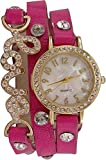 Only Deal Bracelet Type Pink Color Analogue Watches for Girls and Women