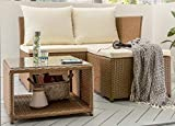 Destiny Lounge Gartenmöbelset LoFT Loungeset Balkonset Sitzgruppe Polyrattan