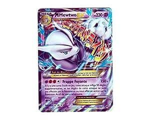 Carte Pokémon 63/162 MEGA M MEWTWO EX HOLO 230 PV - Série XY IMPULSON TURBO XY8 - NEUVE FR RARE