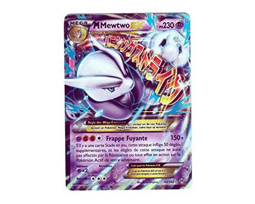 Pokémon Karte 162/63 M MEGA tolle Mewtu-EX HOLO 230 PV-Reihe XY IMPULSON TURBO-FR XY8 Selten NEU (Mega Seltene Pokemon Karten)