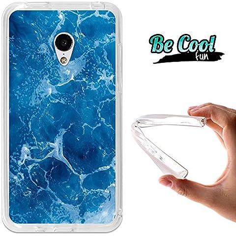 Becool® Fun - Custodia Gel Umi Hammer, Cover TPU prodotto col miglior silicone, protegge e si adatta alla perfezione al tuo Smartphone e oltrettutto ha il nostro disegno esclusivo. Schiuma del mare