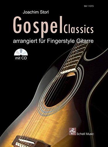 Gospel Classics: Arrangiert für Fingerstyle-Gitarre (Noten/ TAB/CD) (Jazz- Blues Gitarre) Classic Blues Tabs