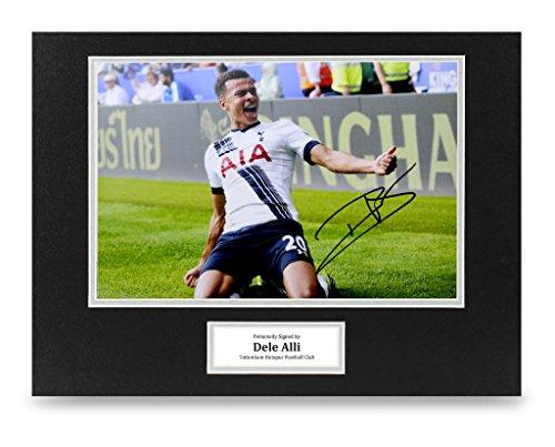 Dele-Alli-Signed-16×12-Photo-Display-Tottenham-Hotspur-Autograph-Memorabilia