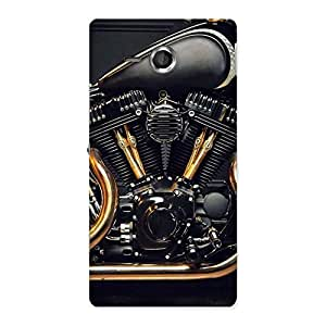 Special Awesome Cruise Engine Back Case Cover for Sony Xperia SP