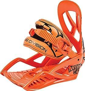 Nitro Snowboards Kinder Snowboard-Bindung DIG BDG 15, Orange, XS, 1151836311