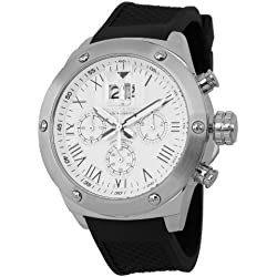 Duke &Söhne Men's Watch XL Analogue Quartz Silicone 313-182 HS