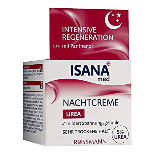 ISANA med Nachtcreme Urea 50 ml