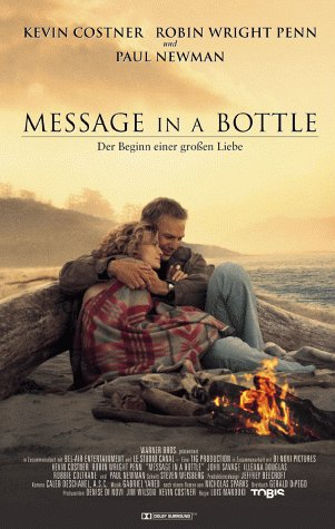 Message in a Bottle [VHS]