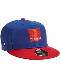 D.Franklin Blue-Red Blend Snapback, Gorra Unisex, Única