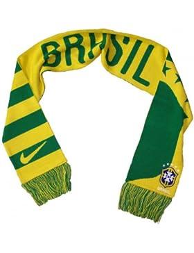 Nike SE0164-737 – Sciarpa Brasile, colore giallo/verde