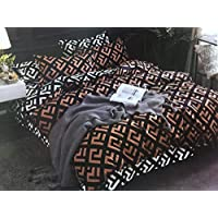 Deng King Size, Cotton,Floral Pattern, Multi Color - Bed Sheets
