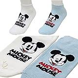 Low Cut Socken Micky Maus Socken für Mädchen Inhalt: 2 Stück M Mehrfarbig
