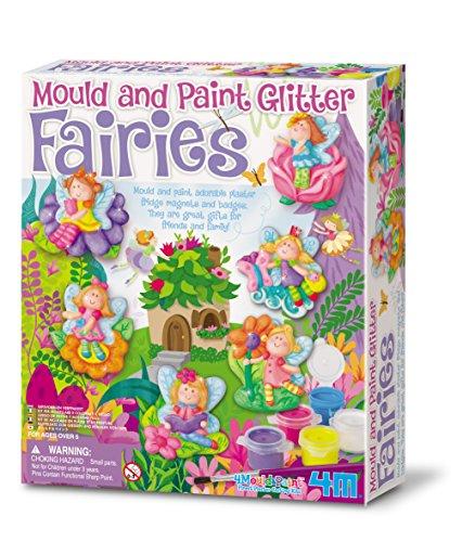Mould & Paint Glitter Fairy Plaster Kit