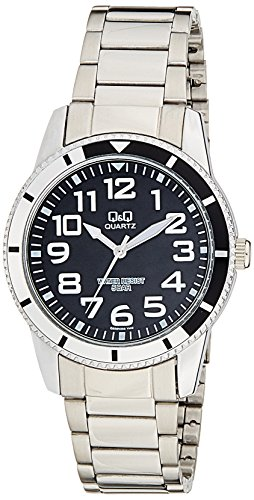 Q&Q Analog Black Dial Men's Watch - Q556N205Y image