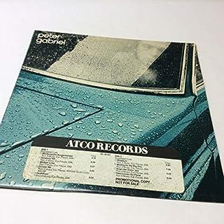 Peter Gabriel 'Peter Gabriel' Car Promotional Coy ATCO Vinyl LP VG/EX- Tidy Copy