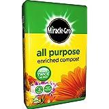 Miracle-Gro Compost enrichi tout usage 50L * * enrichi en engrais Miracle Gro * *