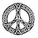 Nxcsb 59CmX59Cm Símbolo de Paz Decoración de la Pared Pegatinas Vinilo Pegatinas de...