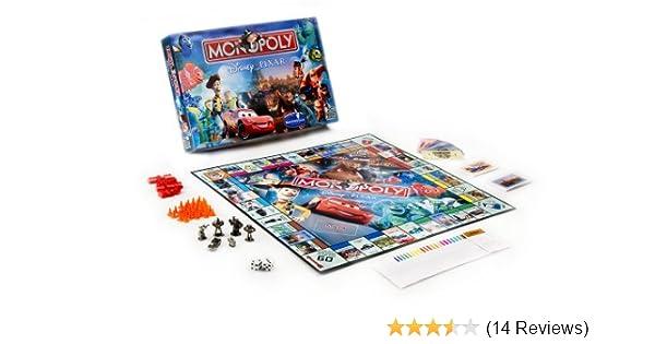 Disney Pixar Toy Story Monopoly Family Board Game