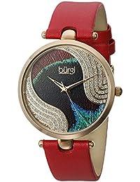 Burgi Reloj de cuarzo Woman BUR131RD 38 mm