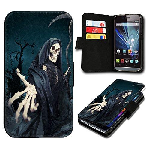 Book Style HTC Desire 310 Premium PU-Leder Tasche Flip Brieftasche Handy Hülle mit Kartenfächer für HTC Desire 310 - Design Flip SB539
