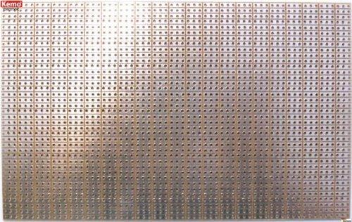 KEMO Experimentierplatine mit 3er Streifenraster, E013