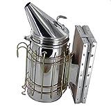 Sharplace 2x Bee Hive Acciaio Inox Fumatore W / Calore Strumento Scudo Apicoltura Accessori