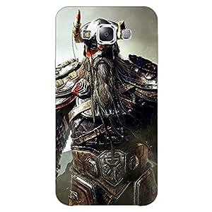 Jugaaduu God of War Back Cover Case For Samsung Galaxy E5