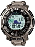 Casio Pro-Trek Men's Radio Controlled Solar Digital Watch PRW-2500T-7ER with Titanium Strap