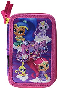 Shimmer And Shine Shimmer and Shine-2700000243 Plumier,, 19 cm (Artesanía Cerdá CD-27-0243)