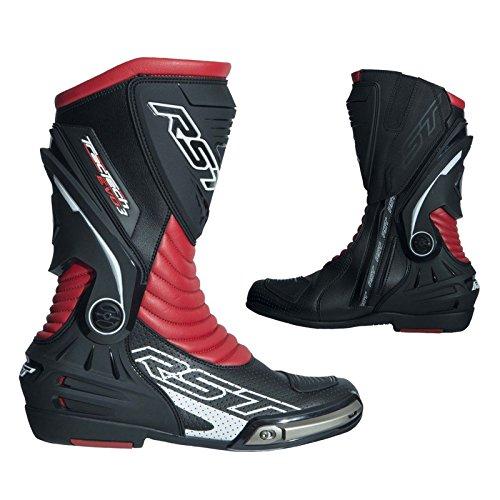 RST 2101Tractech EVO III sport CE unisex stivali da moto-rosso - Red - 45