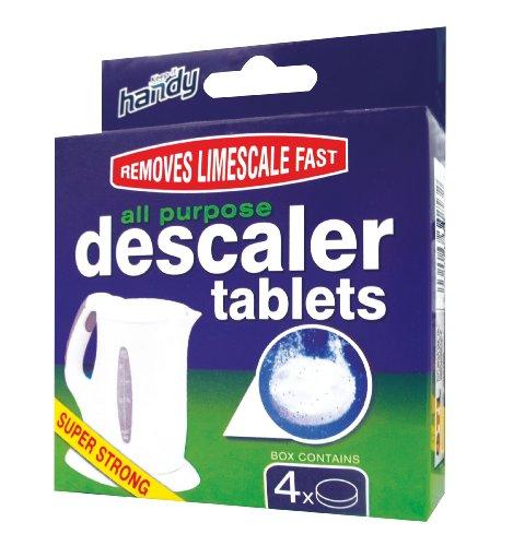 Keep it Handy Descalcificador tabletas de uso múltiple del Paquete de 4 x 20g Tablets