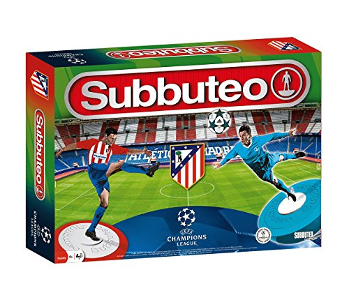 Subbuteo Playset Atlético Madrid UEFA Champions League