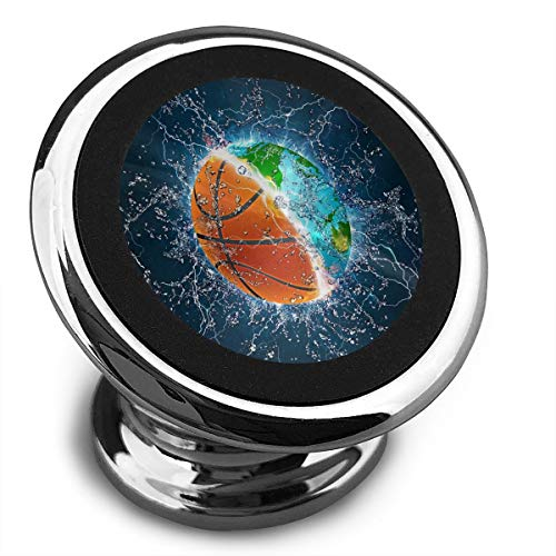 Univer-See Magnetische KFZ-Halterung für HTC One/Sony Xperia (360 ° drehbar, mit Kompass-Roset) Schwarz/Weiß