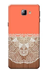 Samsung Galaxy A9 Back Case Kanvas Cases Premium Quality Designer 3D Printed Lightweight Slim Matte Finish Hard Cover for Samsung Galaxy A9