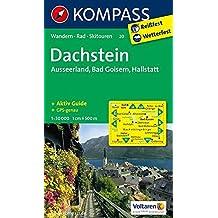 Dachstein - Ausseerland - Bad Goisern - Hallstatt: Wanderkarte mit Aktiv Guide, Skitouren und Radrouten. GPS-genau. 1:50000 (KOMPASS-Wanderkarten, Band 20)