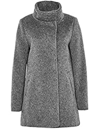 Hallhuber Brushed Wool Crop Coat