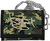 2Stoned Ketten-Geldbörse mit Stickmotiv Classic Logo in Camouflage für Herren und Jungen