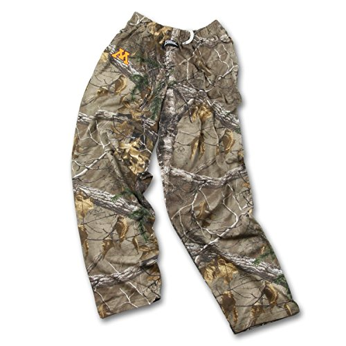 Zubaz Herren NCAA Realtree Xtra Camo Print Team Logo Casual Active Pants, Herren, Men's NCAA Realtree Xtra Camo Print Team Logo Casual Active Pants, Camouflage, Small - Schlafen Lounge-hose