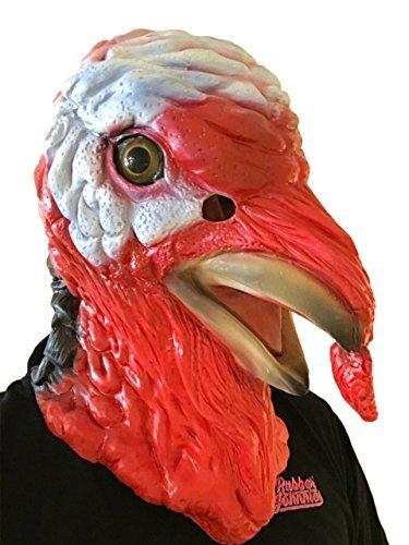 Türkei Vogel Maske Film Qualität Fancy Kleid (Rooster Erwachsene Kostüme)