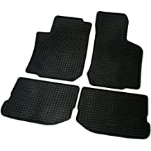 Gummimatten Gummi-Fußmatten für Seat Toledo II Bj ab 1999 bis 2004