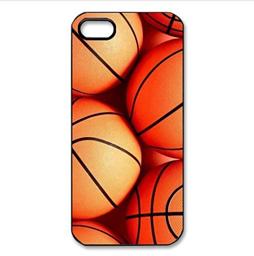 ouucase DIY coolen Basketball Muster Schutzhülle für iPhone 5 C PC Fall DIY HD Design PC Hard New Cover (Phone I C Basketball 5)